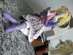 boneca estilo Tilda