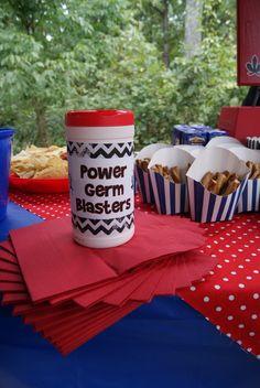 "Photo 18 of 31: Power Rangers / Birthday ""Power Ranger Training Camp""   Catch My Party"