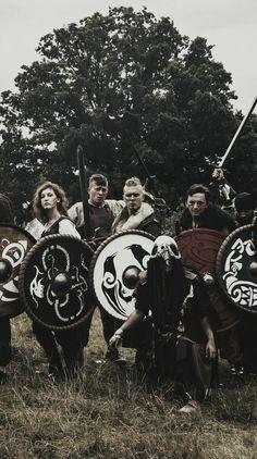 Norska Vikings on BattleQuest larp in Poland