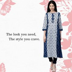 Ethnic collection & Indo - Fusion collection at a one point exclusively on our website www.jaipurkurti.com with attractive offers on#kurti#kurta