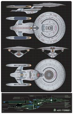 Here is my latest custom starship commission. This time it was an order for the Probert Proto-Ambassador Class Starship. Another great ship designed by Andrew Probert. Spaceship Art, Spaceship Concept, Concept Ships, Vaisseau Star Trek, Star Trek Games, Starfleet Ships, Star Trek Characters, Star Wars, Star Trek Starships