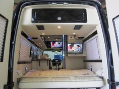 Sprinter-based custom built Class B from Midwest Automotive Designs