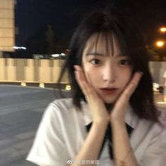 Cute Japanese Girl, Cute Korean Girl, Asian Girl, Petty Girl, Very Pretty Girl, Korean Short Hair, Ulzzang Korean Girl, Uzzlang Girl, Instagram Pose