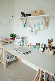 Tumbler inspired desk diy:)