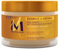 Motions Prewash Detangling Butter for Natural Textures, 8 Ounce Motions http://www.amazon.com/dp/B00PATJDWM/ref=cm_sw_r_pi_dp_2k7kwb1W8E6N9