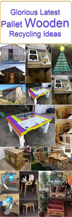 pallet wooden recylcing ideas