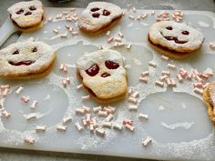Biscuits fourrés pour Halloween