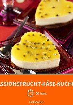 Oh wie lecker! Käsekuchen mit einem extra Frucht Twist!
