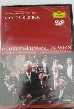 CARLOS KLEIBER - NEUJAHRSKONZERT 1989 (DVD) NEU&OVP  in Filme & DVDs, DVDs & Blu-rays | eBay!