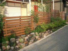 広島市安芸区 レンガ植栽完了