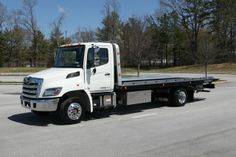HINO 258ALP w/ Chevron steel LCG www.TravisBarlow.com Towing Insurance & Auto Transporter Insurance for over 30 years