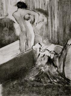 Edgar Degas  monotype
