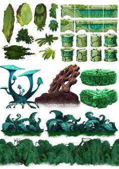 《雷曼起源》场景概念设计 原画 横版场景... Scene Design, Game Design, Environment Design, Art, Digital Painting, Environmental Art, Art Tutorials, Prop Design, 2d Game Art