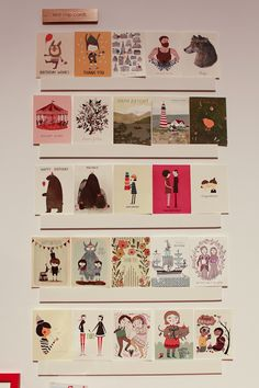 National Stationery Show 2012: Red Cap Cards, Crow and Canary   Photo Credit: Oh So Beautiful Paper