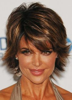 My mom would look good with this cut