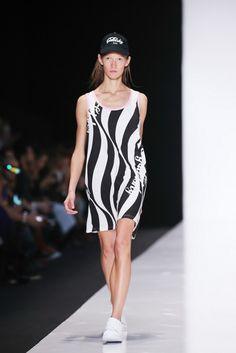 Catwalk summer fashion dress up