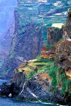 Archipelago of Madeira, Portugal | Cliffs at Camara de Lobos