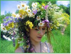 Latvian wreath, Summer Solstice #floralcrown #summersolstice #solstice