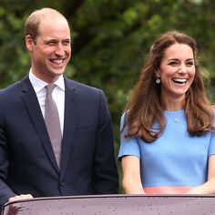 """Duke and Duchess of Cambridge during """"The Patron's Lunch"""" celebrations for The Queen's 90th birthday at The Mall on June 12, 2016"""