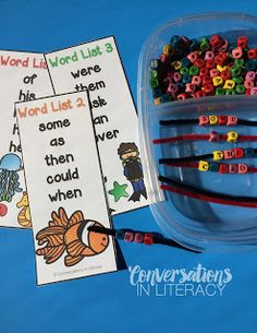 Conversations in Literacy: Make It, Play It, Learn It Sight Word Fun Abc Centers, Sight Word Centers, Sight Word Practice, Literacy Centers, Reading Centers, Spelling Activities, Sight Word Activities, Sight Word Games, First Grade Sight Words