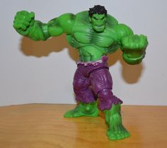 "MARVEL UNIVERSE THE INCREDIBLE HULK LOOSE ACTION FIGURE COMIC PACK HASBRO 3.75"" #Hasbro"