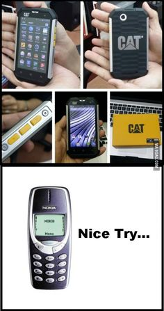 CAT Created an ANDROID phone that can withstand almost everything...