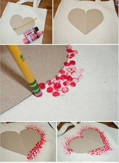 Dot Painted heart