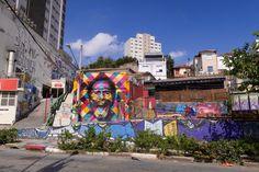 Street art of Vila Madalena, Sao Paulo, Brazil