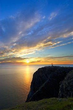 Sol da meia-noite (foto: Bjarne Riesto / Visitnorwaycom)