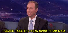 New party member! Tags: donald trump twitter adam schiff please take the keys away from dad