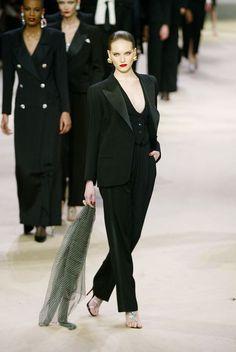 Yves Saint Laurent Tuxedo ,  Fashion Show Details & more