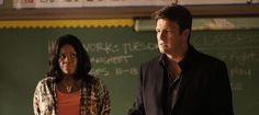 Lisa Caputo Review of Ep 704. 'Castle' had to win over a classroom of kids without Beckett's help to get to the bottom of a case.
