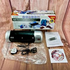 TEXET A4 PERSONAL LAMINATOR   LM-270 ONLY USED ONCE GREAT MACHINE Free Delivery, A4