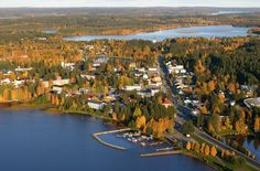 Sotkamo, Finland-most favorite because my son and his family live there