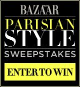 Parisian Style Sweepstakes-Chance to Win Designer Fashions worth $10,000! To ENTER: http://www.harpersbazaar.com/sweepstakes/24756?src=soc_twtr