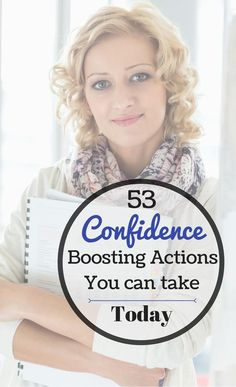 Confidence boosting tips, actions activities and ways you can use today!