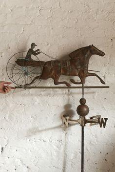 Sulky & Horse weathervane, Retrouvius Reclamation and Design