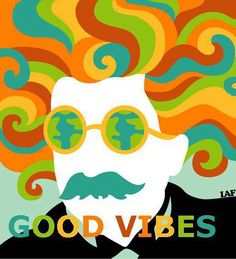 ☯☮ॐ American Hippie Psychedelic Art Quotes ~ Good Vibes