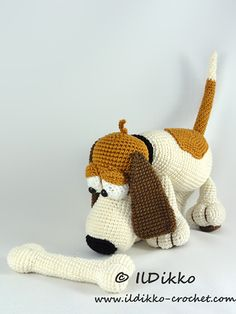 Buy Butch the Basset amigurumi pattern - Amigurumipatterns.net