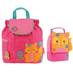 Stephen Joseph Quilted Fox Backpack and Fox Lunch Pal - Toddler Backpacks - Preschool Backpacks Stephen Joseph http://www.amazon.com/dp/B00MD579J0/ref=cm_sw_r_pi_dp_aAbaub1NHNKNX