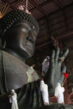 #KBHome Great Buddha at the Todaiji Temple, Nara, Japan. The Great Buddha was completed in AD 752.