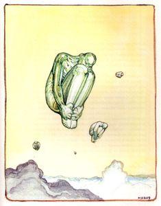 Moebius , illustrazioni per François Villon Altri si proveranno certo a ricordare e celebrare la grandezza solitaria di Jean Giraud , ...