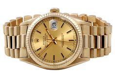 Rolex Men's Presidential Gold Watch on OneKingsLane.com