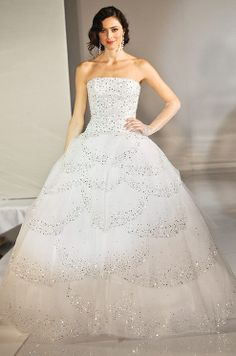 Ballgown Wedding Dress by Ines di Santo