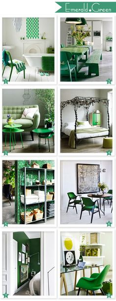 Emerald Green Interior Inspiration
