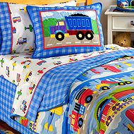 Olive Kids truck bedding