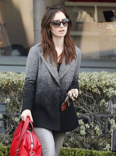 Lily collins shopping in west hollywood January 7 2016