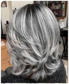 short grey hair over 70 silver hair colors and styles for mature women Curly Hair Styles, Medium Hair Styles, Grey Hair Styles For Women, Pelo Color Plata, Grey White Hair, Silver Grey Hair, Long Grey Hair, Curly Gray Hair, Grey Hair Over 50
