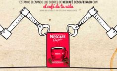 Los momentos en un sobre de Nescafé