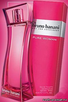 Женская туалетна явода Pure Women от #BrunoBanani #parfum #perfume #parfuminRussia #vasharomatru